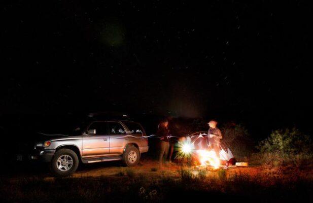 acampar pick up