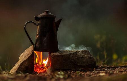 maneras hacer cafe campamento